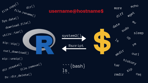 A Comprehensive Introduction to Command Line for R Users