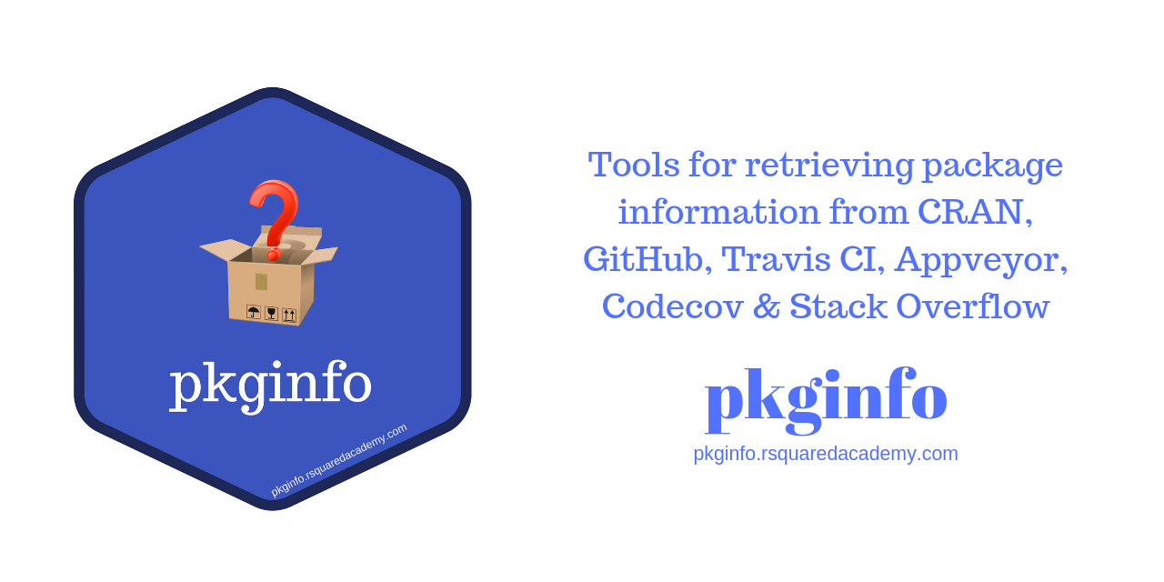 pkginfo: Tools for Retrieving R Package Information