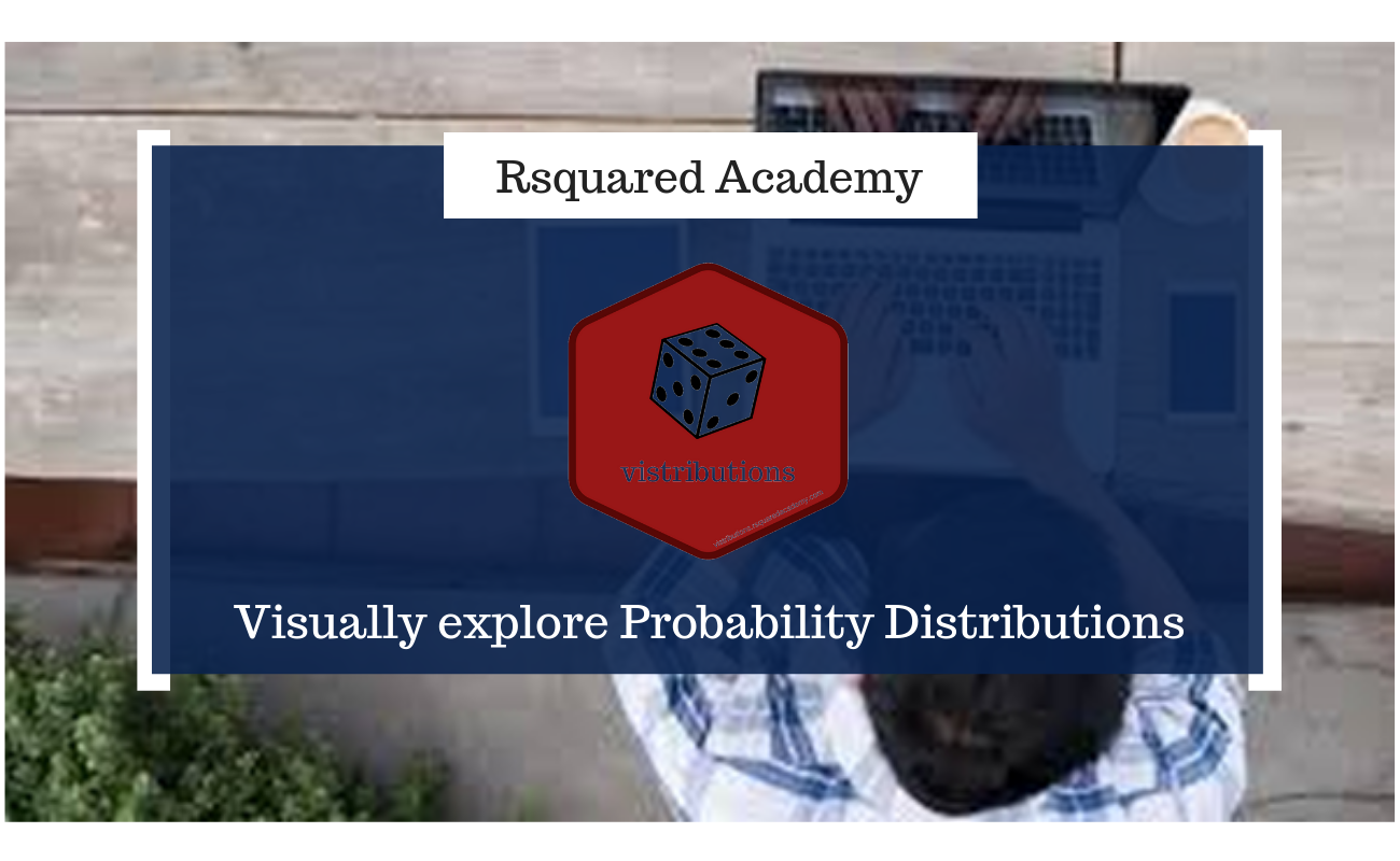 Visually explore Probability Distributions with vistributions